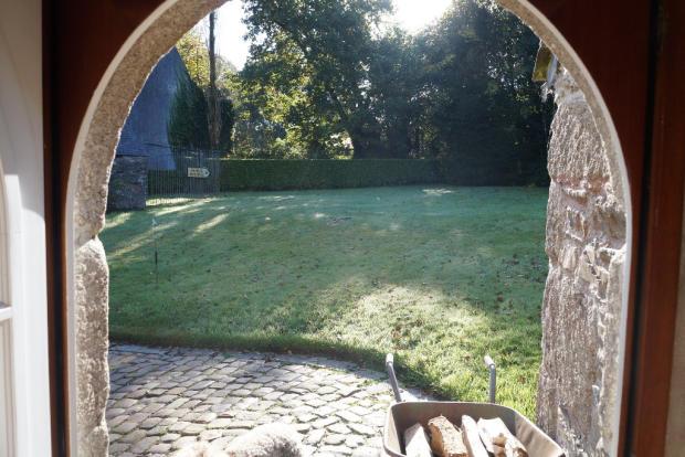 Stone arched doorway