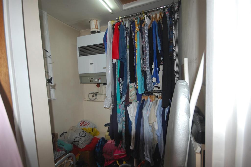 Boiler/storage room