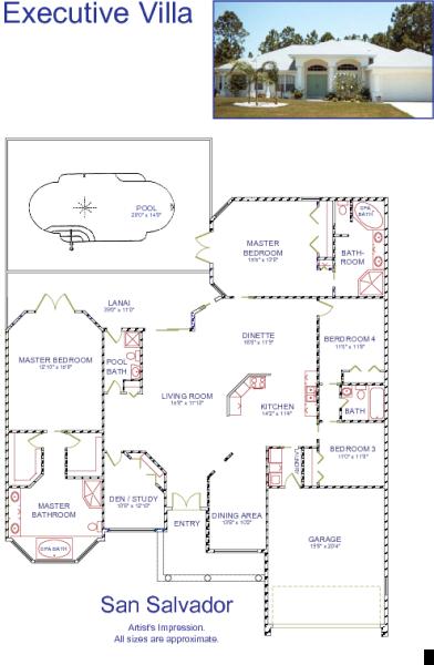 Floor plan of style