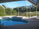 Pool, lake and golf