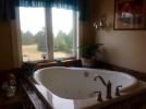 Tub in loft ensuite