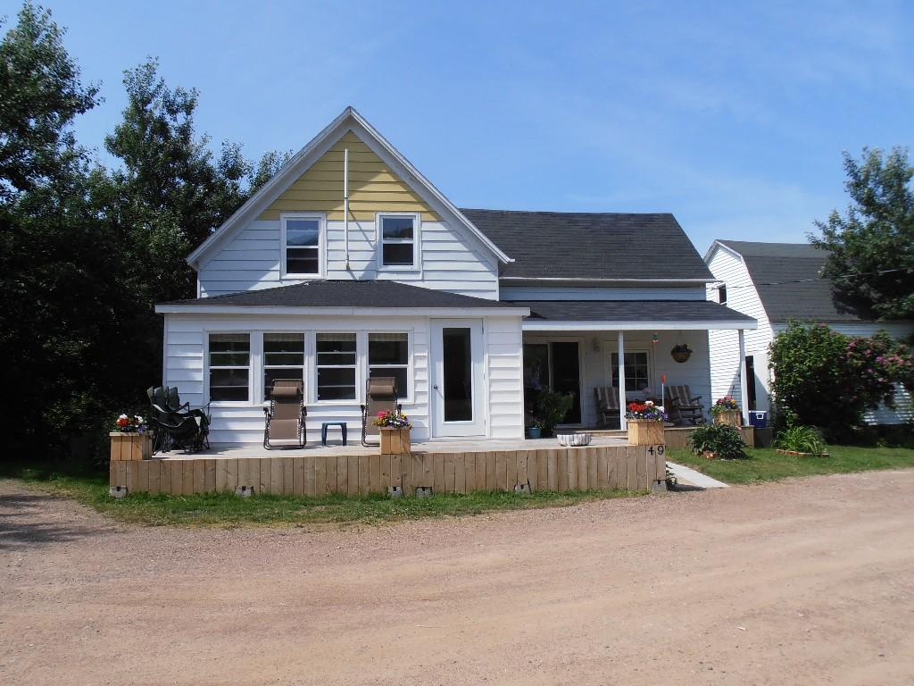 Detached house for sale in Pleasant Bay, Nova Scotia