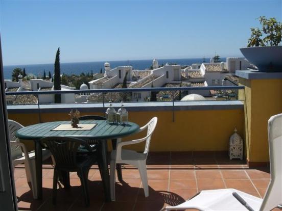 seaviews from terrac