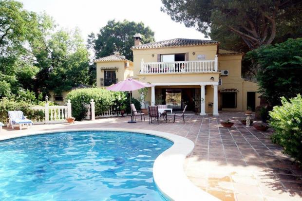 existing villa