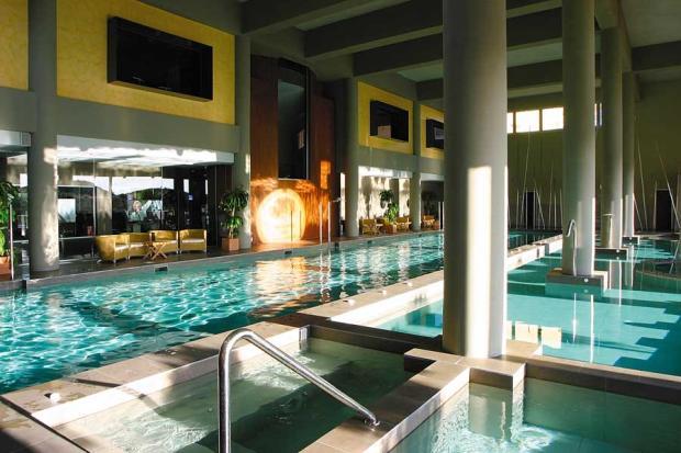 25 meter indoor pool