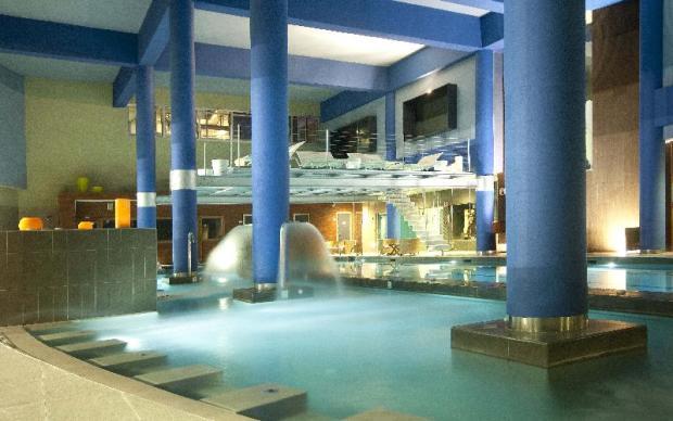 indoor spa on resort