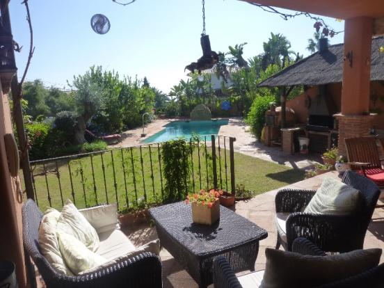 terrace of living ar