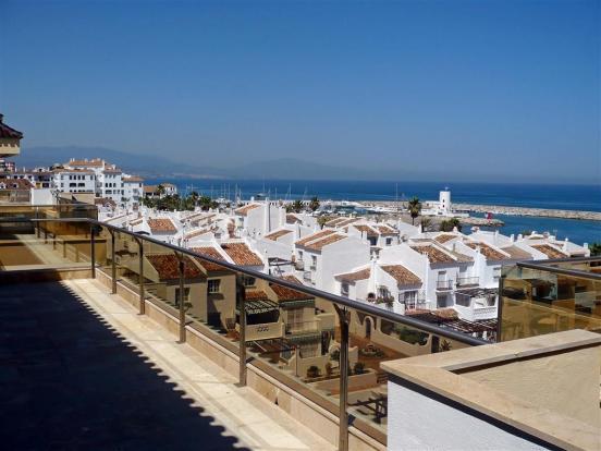 views to marina from