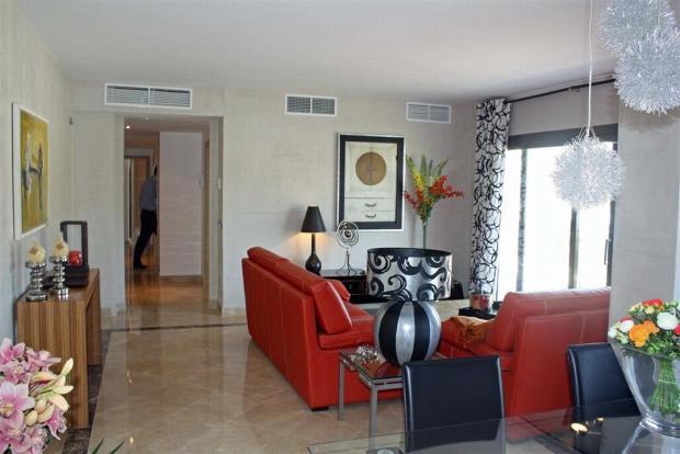living room showflat