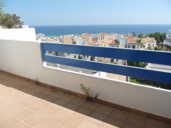 Terrace with sea vie