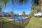 Jardín 1 and pool