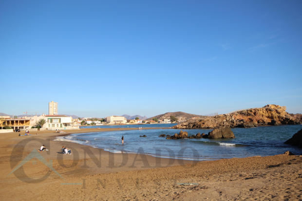 Mazarrón Bay beach