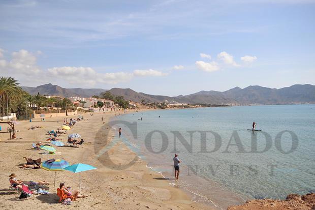 Mazarrón bay beach