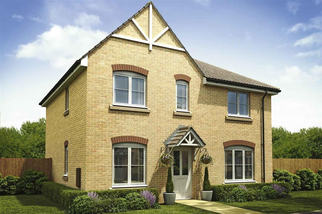 Artists impression of a typical Shelford home