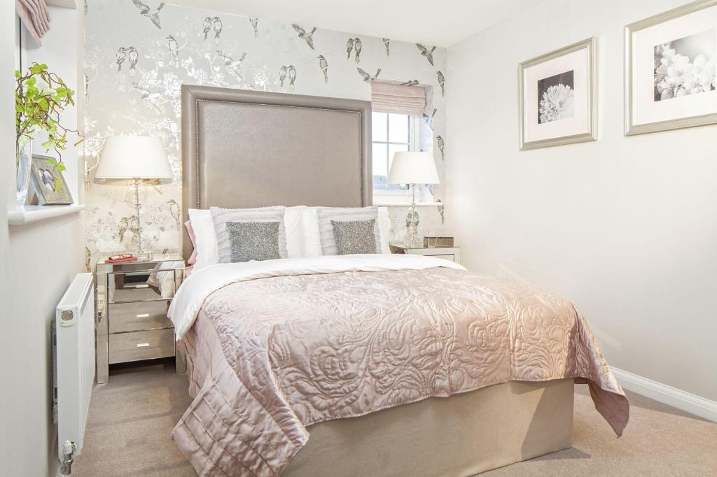 Morpeth double bedroom