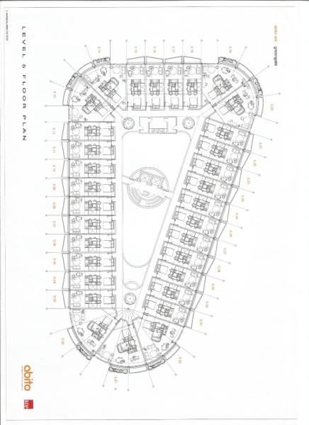 Abito 5th floor plan