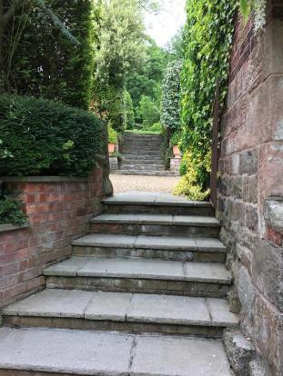 Steps To Courtyard