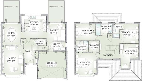 Full House Layout