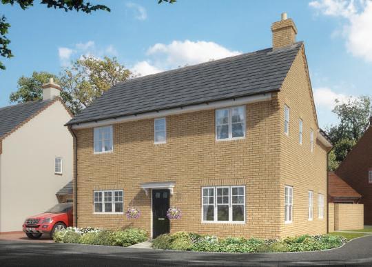 4 bedroom detached house for sale in moreton vale moreton for Buckingham choice floor plans