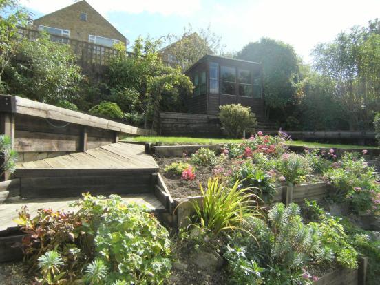 Tiered Rear Garden