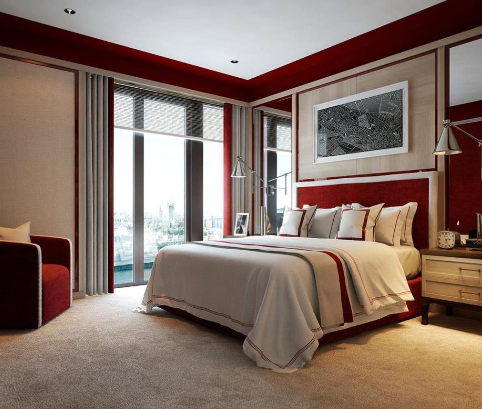 Embassy Gardens,Master Bedroom