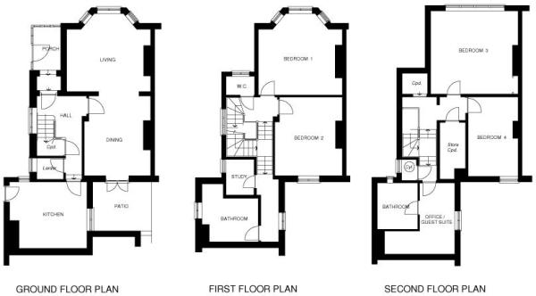 Floor Plans for Broc