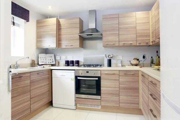 Two bedroom Buckminster kitchen