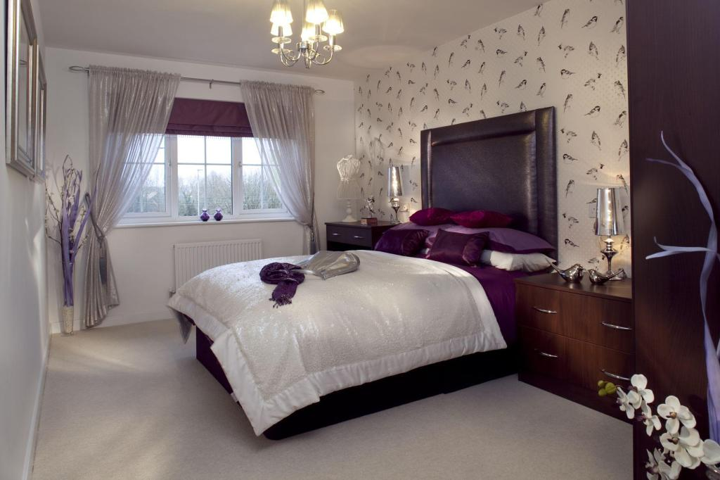 Two bedroom Buckminster bedroom