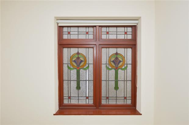 Stained Glass Landing Window