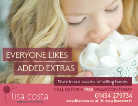 Get brand editions for Lisa Costa Residential Sales & Lettings, Thornbury