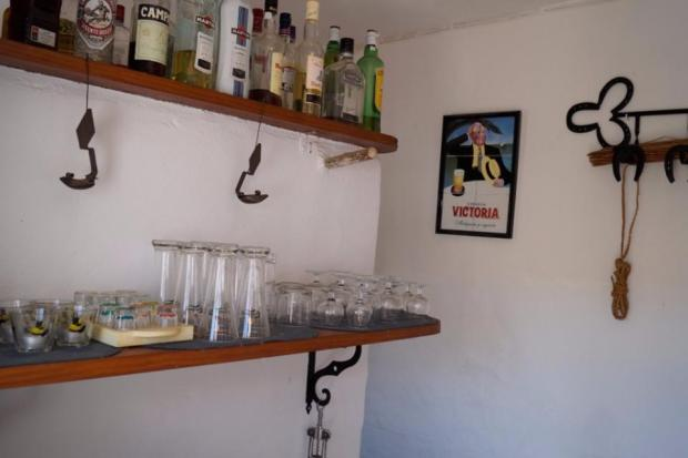 Room now is a little bar