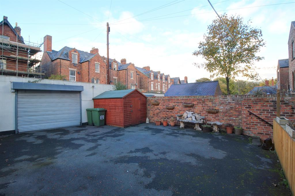Rear Yard with parking