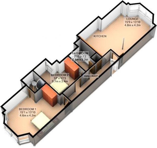 3D Floor Plan Image