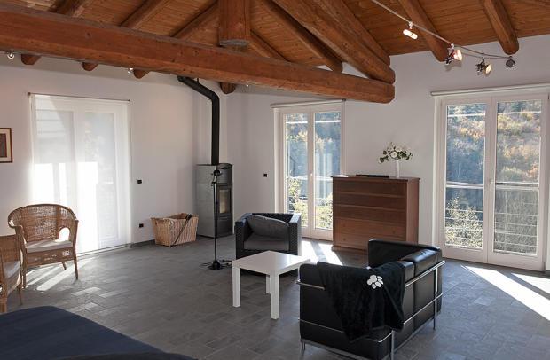 Spacious interior