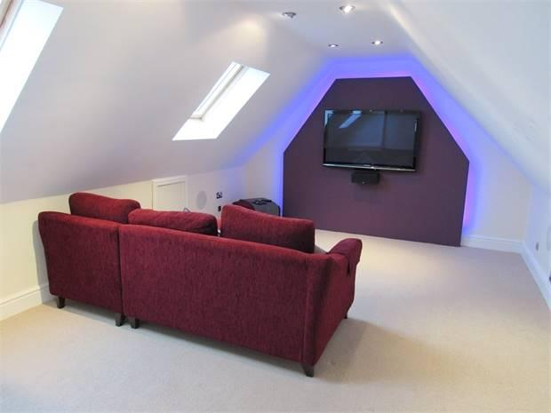 Cinema Room (potential 7th bedroom)