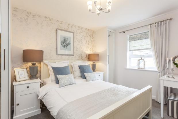 Typical Barwick master bedroom