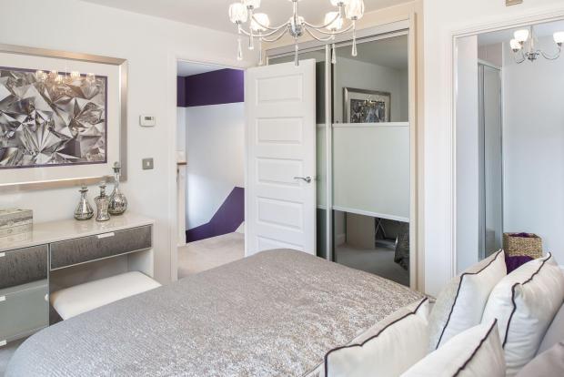 Typical Kington master bedroom