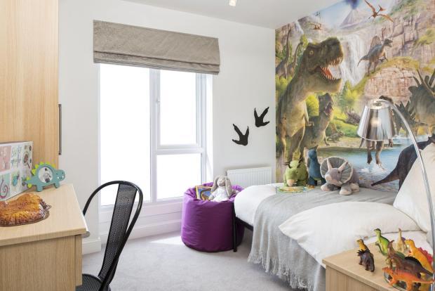 Typical Kington third bedroom