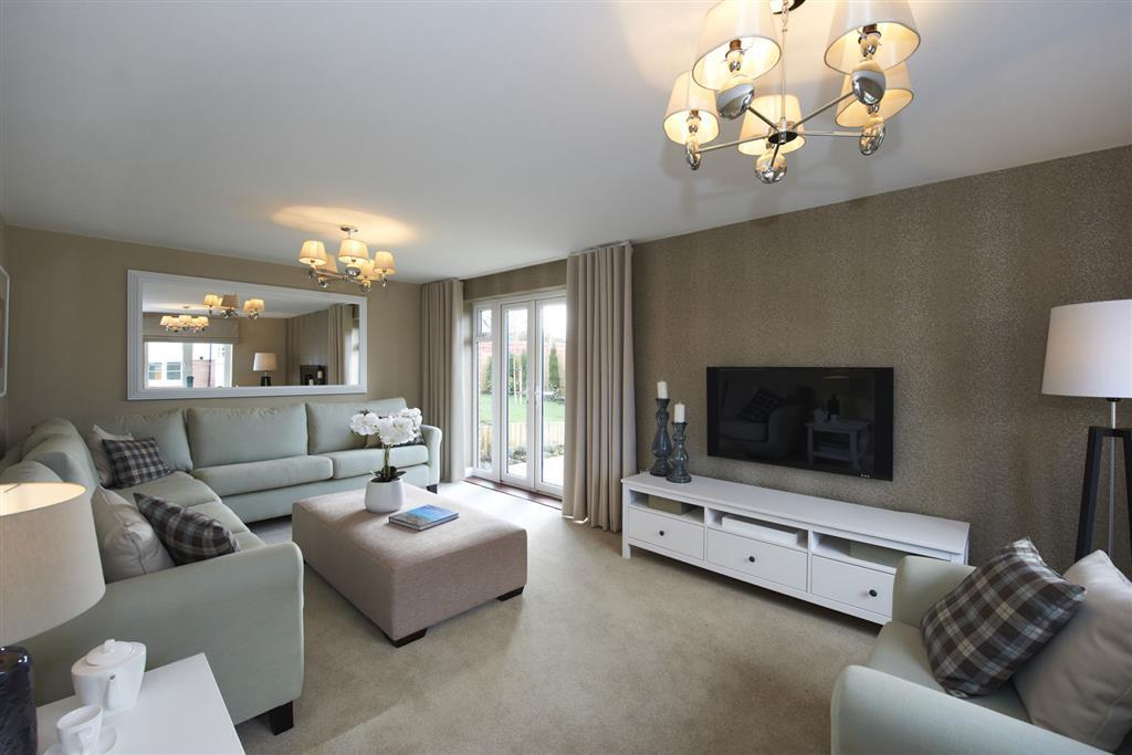 Image depicts a typical Taylor Wimpey living room