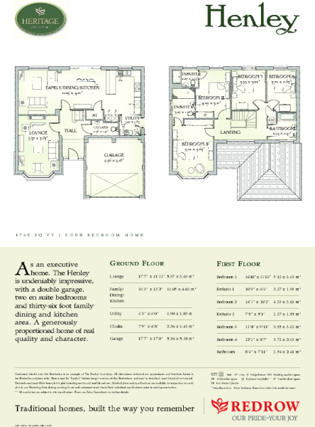 Henley Floorplan
