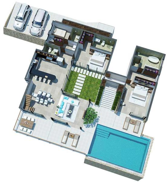 Lower Villas Level 1