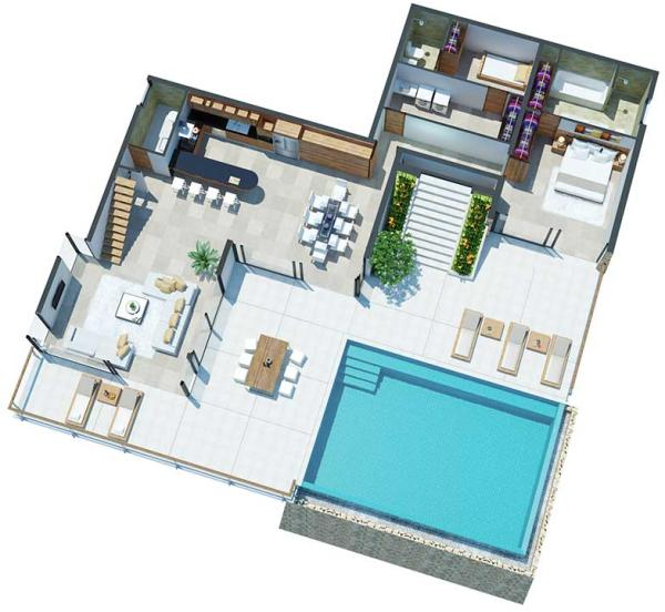 Upper Villas Level 1