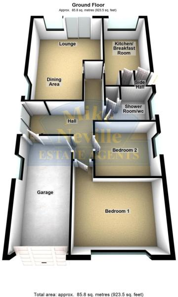 10 Rushmere Way - 3D