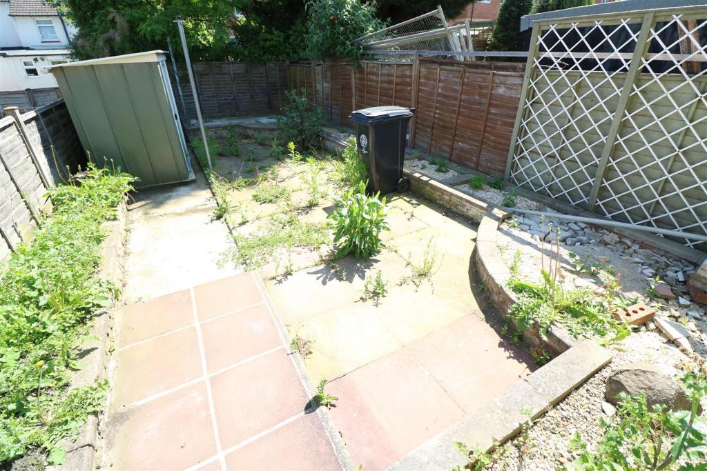 Rear Yard & Garden