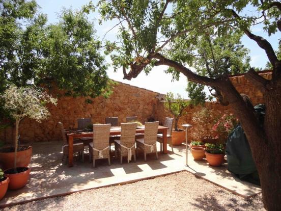 inner courtyard terr