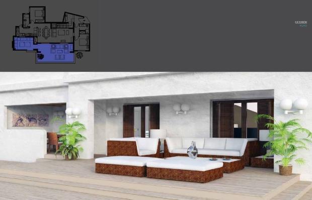Planned terrace
