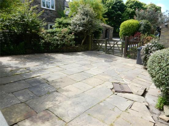 Front Paved Area