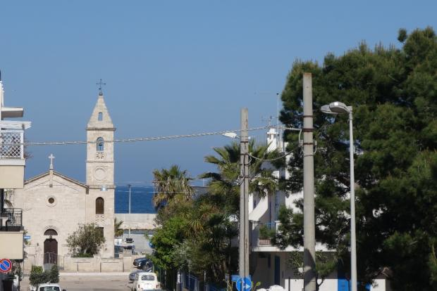 Views to the church