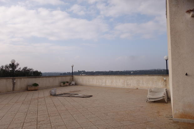 The large terrace