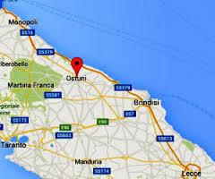 Apulia map